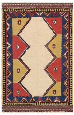 Anatolian Vintage Hand-Knotted Wool Turkish Rug