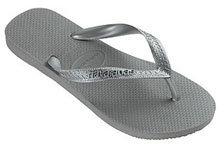 Havaianas havaiana's Metallic Sandal, Silver