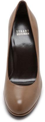 Stuart Weitzman Swoon 90mm Leather Pumps