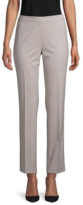 Lafayette 148 New York High Waisted Ankle Zip Trousers