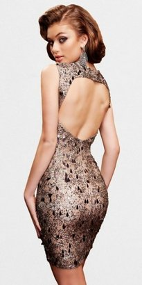 Scala Lead sweetheart open back Sequined Party Dresses
