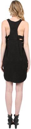 Mason by Michelle Mason Cut Out Shift Dress in Black