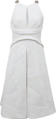 J. Mendel Sleeveless Back Cut Out Dress