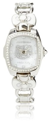 Hello Kitty CT.7105LS-01M Stainless Steel White Watch $54 thestylecure.com