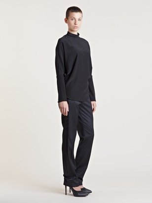 Givenchy Women's Backless Long Sleeve Top