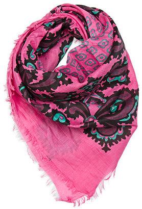 MANGO TOUCH - Colour print foulard