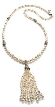 Ben-Amun Pearl Tassel Necklace
