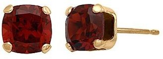 JCPenney Genuine Garnet Princess-Cut 4mm Stud Earrings