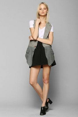 Urban Outfitters Urban Renewal Pieced Blazer Vest