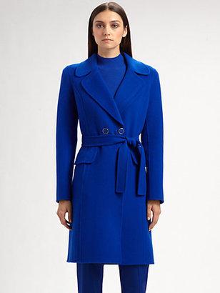 St. John Doubleface Wool/Cashmere Coat