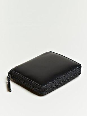 Comme des Garcons Unisex Very Black Line Box Wallet