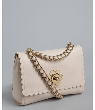 Mulberry light berry cream goat leather 'Cecily with Flower' shoulder bag