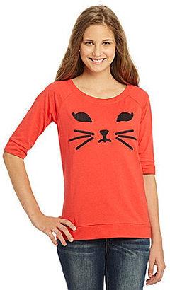 So It Is Cat-Face Sweatshirt