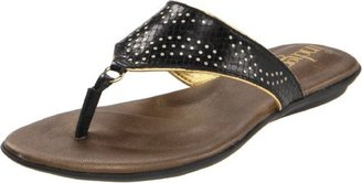 Indigo by Clarks Women's Sol Bloom Thong Sandal