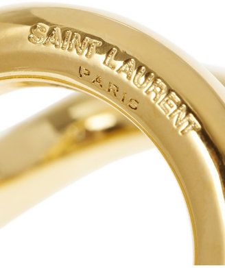 Saint Laurent Gold-plated ring