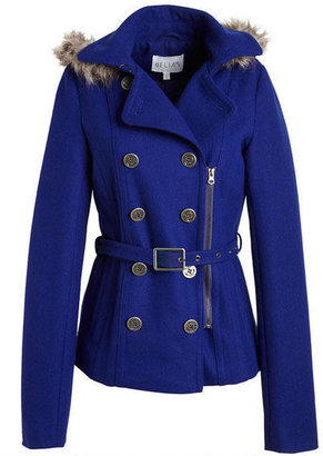 Delia's Belted Wool Coat With ThinsulateTM