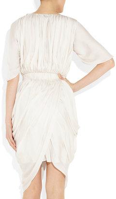 Amanda Wakeley Draped satin dress