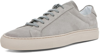 Common Projects Achilles Vintage Suede Shoe in Grey