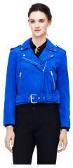 Club Monaco Ela Suede Jacket