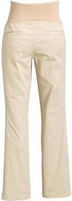 Old Navy Maternity Full Panel Everyday Khakis