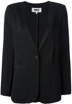 Maison Martin Margiela lapel-less blazer