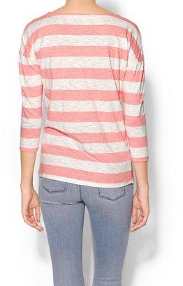 Pim + Larkin Rugby Stripe Pullover
