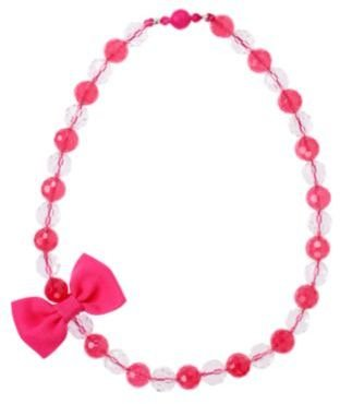 Crazy 8 Bow Bead Necklace