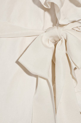 Lanvin Cotton and silk-blend radzmir dress