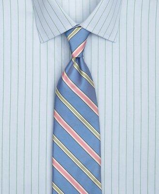 Brooks Brothers Track Alternating Split Stripe Tie