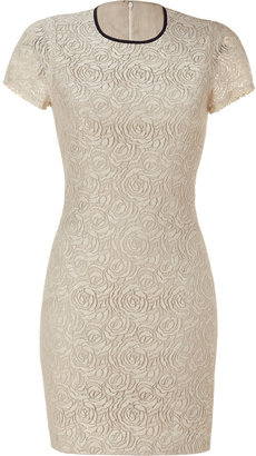 L'Agence LAgence Natural Lace Dress