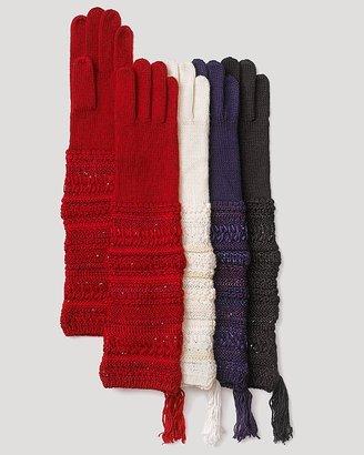 Lauren Ralph Lauren Ribbon Texture Gloves