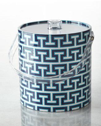 Jonathan Adler Mykonos Stripe Ice Bucket