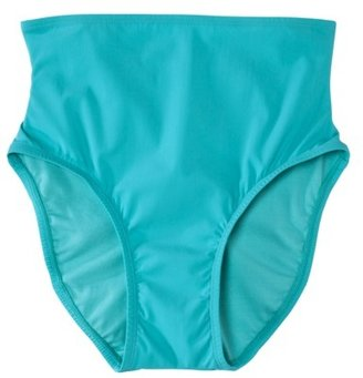Sara Blakely ASSETS® By A Spanx® Brand Women's Full Coverage Swim Bottom -Light Teal