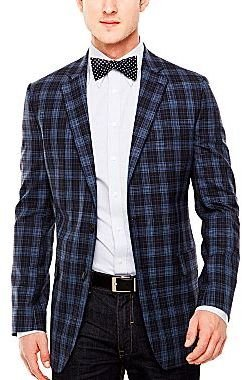 JCPenney Stafford® Plaid Sport Coat