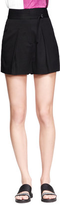 Helmut Lang Cove High-Waist Shorts