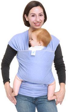 Moby Wrap Moderns Baby Carrier - Cornflower