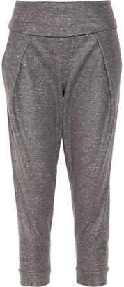 Alexander Wang Flecked wool and silk-blend tapered pants