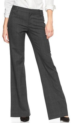 Gap Perfect trouser plaid pants
