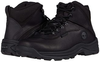 Timberland White Ledge Mid Waterproof (Black) Men's Hiking Boots