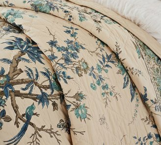 Pottery Barn Deanna Wholecloth Quilt & Sham