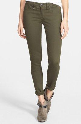 Rag and Bone 'The Legging' Sateen Skinny Jeans (Army Sateen)