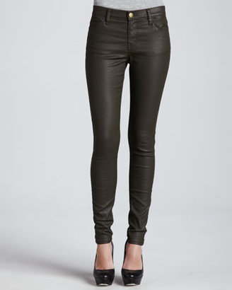 Current/Elliott The Skinny Ankle Pants, Army Green