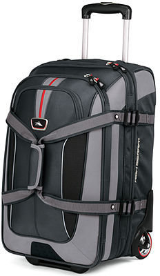"""High Sierra CLOSEOUT! Rolling Duffel and Backpack, 26"""" AT-6 Expandable Carry On With Daypack"""