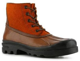 Ralph Lauren Ravensworth Leather & Wool Boot