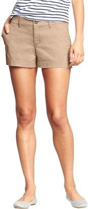 "Old Navy Women's Twill Shorts (3 1/2"")"