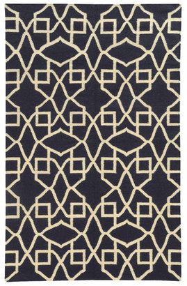 Pantone UNIVERSE Matrix Rug Navy Ivory