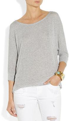 Splendid Drapey Lux jersey top