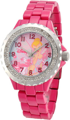 Disney Womens Tinker Bell Pink Enamel Watch $47.99 thestylecure.com