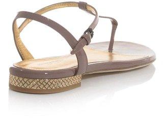 Bottega Veneta Patent leather T-bar sandals