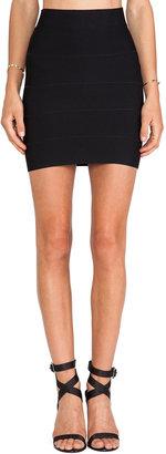 BCBGMAXAZRIA Mini Bandage Skirt